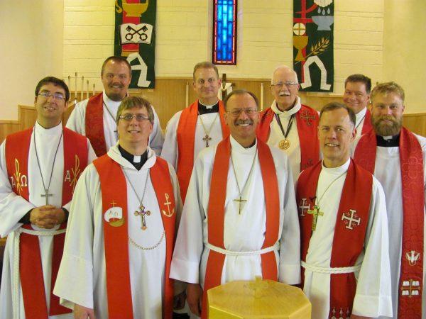 High Plains Circuit Pastors at Debowey Installation