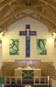 Sanctuary of Zion Lutheran Church, Laramie
