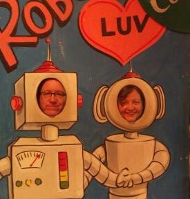 Robot photo booth