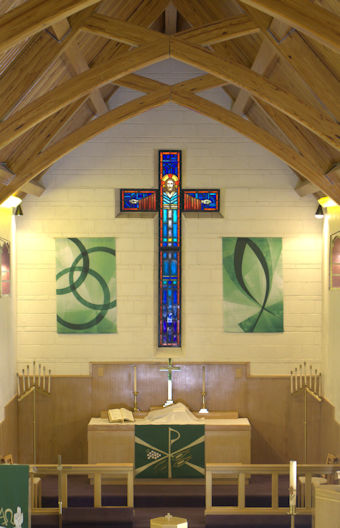 Sanctuary of Zion Lutheran Church, Laramie